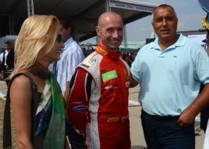 Бойко Борисов с Пламен Кралев и Яна Маринова